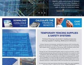 #21 untuk Design a Website Mockup for Fortress Fencing oleh SUBLIMECREATIVO