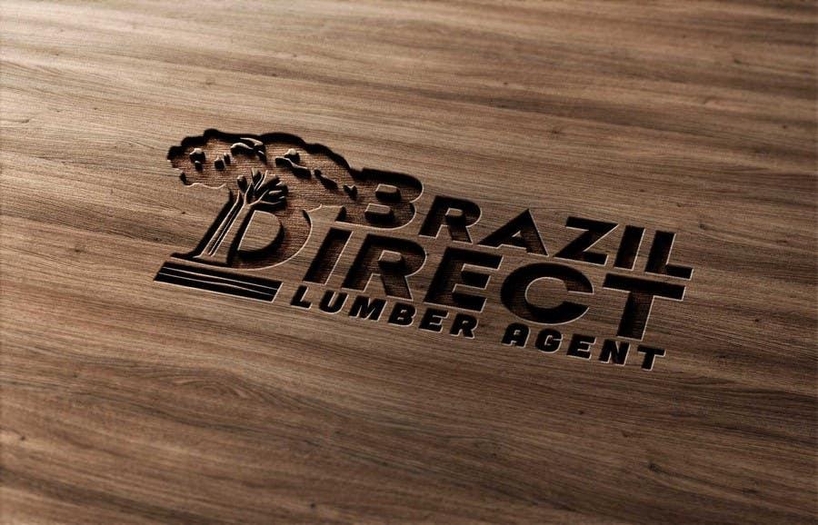 Penyertaan Peraduan #64 untuk Projetar um Logo for lumber company