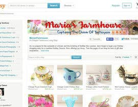 #27 for Design a Banner for Maria's Farmhouse by shobhit98sl