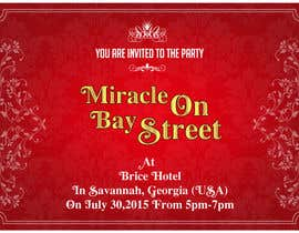 #84 cho Design for a Print Invitation to a Christmas Party in July in Savannah, GA bởi GraphicHimani