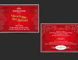 #85 cho Design for a Print Invitation to a Christmas Party in July in Savannah, GA bởi GraphicHimani