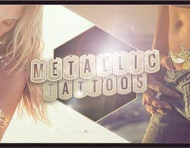 #174 untuk Design a Banner for Fashion Jewelry- Metallic Tattoos oleh NomExpert