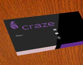 fariar63 tarafından Sleek Business card for Craze için no 11