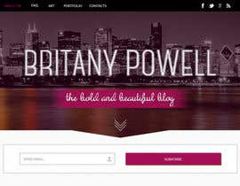 #28 untuk Design a Blogger Landing Page oleh ibutterfly