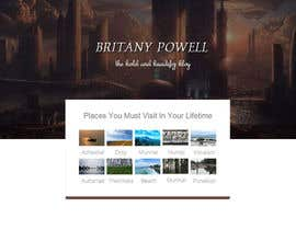 Nro 29 kilpailuun Design a Blogger Landing Page käyttäjältä katrina92tran
