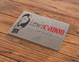 #2 para Design a Business Card for Lew's Canon por jessebauman