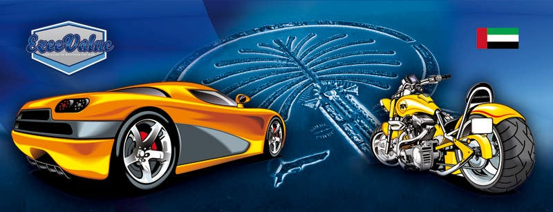 Bài tham dự cuộc thi #                                        3                                      cho                                         Illustrate Something for new cars & motorcycles website