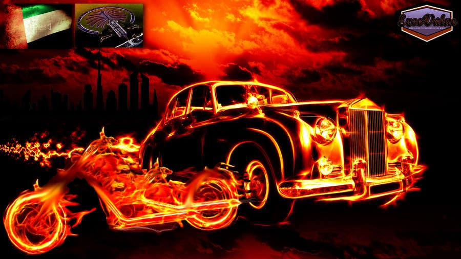 Bài tham dự cuộc thi #                                        10                                      cho                                         Illustrate Something for new cars & motorcycles website