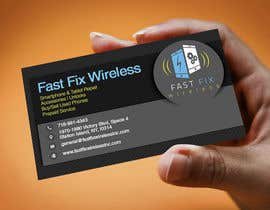 #10 untuk Provide a business card which defines the mobile repair industry oleh evascoallan2