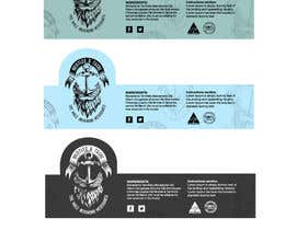 #4 untuk Design 3 Beard Oil Labels for new products launch oleh primadanny