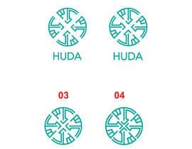 #33 untuk Design a Logo for Arabic Logo for HUDA.id oleh AWAIS0