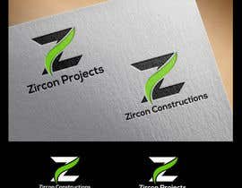 dlanorselarom tarafından Design a Logo for Zircon Projects & Zircon Constructions için no 63