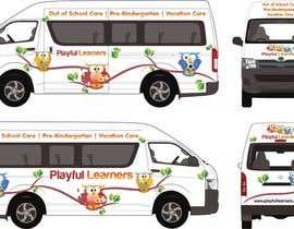 #2 for Design a vinyl wrap for a bus af NavCZ