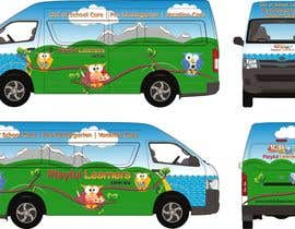 #23 for Design a vinyl wrap for a bus af NavCZ