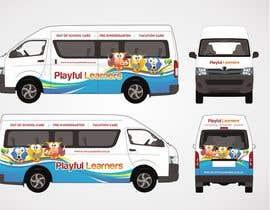 #21 for Design a vinyl wrap for a bus af raquelpimenta