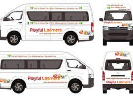 #9 for Design a vinyl wrap for a bus af arman0464