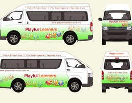 #29 for Design a vinyl wrap for a bus af arman0464