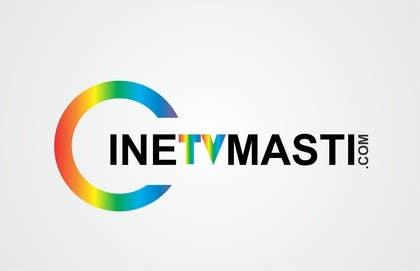 #185 untuk logo design for cinetvmasti.com oleh nuwangrafix
