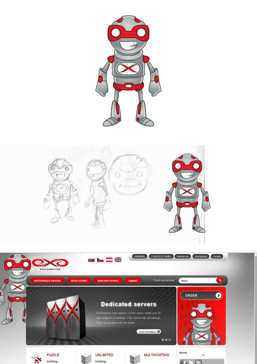 Penyertaan Peraduan #21 untuk Graphic design for new character,