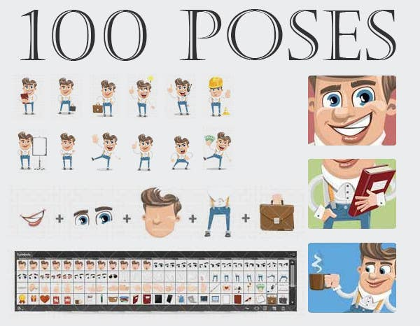 Kilpailutyö #18 kilpailussa Graphic design for new character,