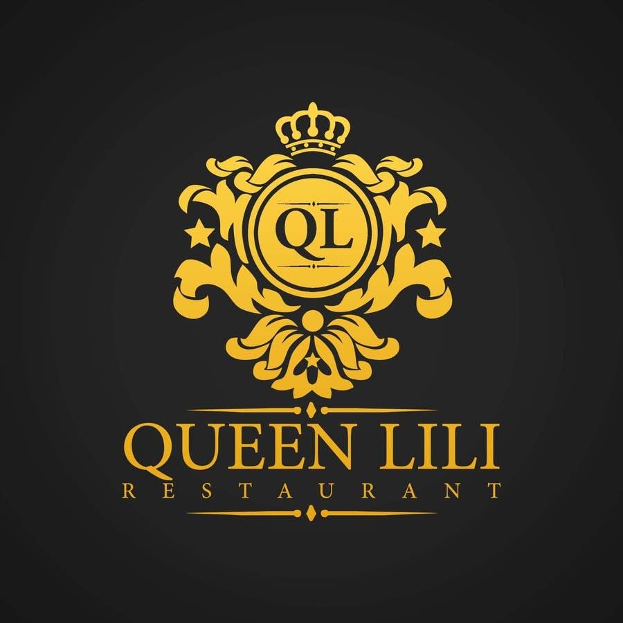 Penyertaan Peraduan #93 untuk Design a Logo for QUEEN LILI RESTAURANT