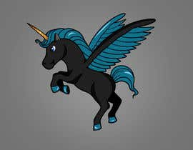 #34 for Cartoon Character (Set of Five) of a Unicorn-Pegasus af a7mdmostafa