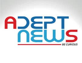 #13 para Design a Logo for Adept News por Marilynmr