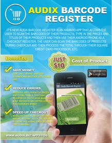 #8 cho Design an Advertisement for Audix Barcode Register bởi gmorya