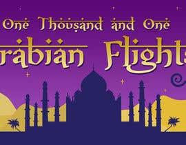 """Nro 14 kilpailuun Design """"1001 Arabian Flights"""" käyttäjältä Estenio7"""