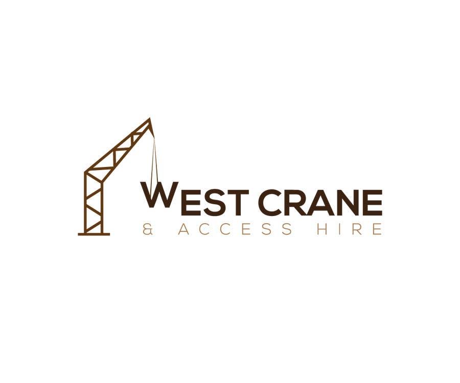 Konkurrenceindlæg #3 for Design a Logo for West Crane & Access Hire