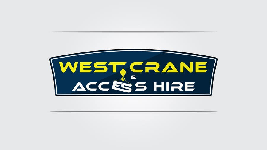 Konkurrenceindlæg #24 for Design a Logo for West Crane & Access Hire