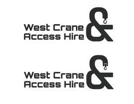 #6 for Design a Logo for West Crane & Access Hire by hics