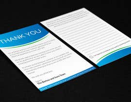 #48 untuk Design a Thank You flyer oleh program23