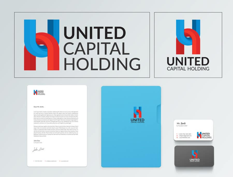 "Penyertaan Peraduan #11 untuk Logo - "" United Capital Holding """