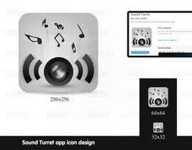 "#18 untuk Design an Icon for the ""Sound Turret"" Mac app oleh dirav"