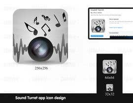 "#29 untuk Design an Icon for the ""Sound Turret"" Mac app oleh dirav"