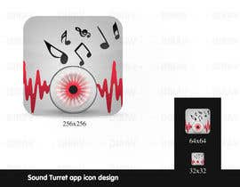 "#30 para Design an Icon for the ""Sound Turret"" Mac app por dirav"