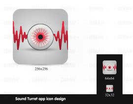 "#31 untuk Design an Icon for the ""Sound Turret"" Mac app oleh dirav"