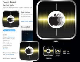 "nº 27 pour Design an Icon for the ""Sound Turret"" Mac app par umamaheswararao3"