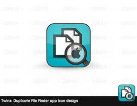 "nº 3 pour Design Icon for ""Twinz: Duplicate File Finder"" Mac app par dirav"