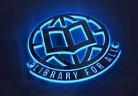 Graphic Design Entri Peraduan #339 for Design a Logo for the Library For All application!