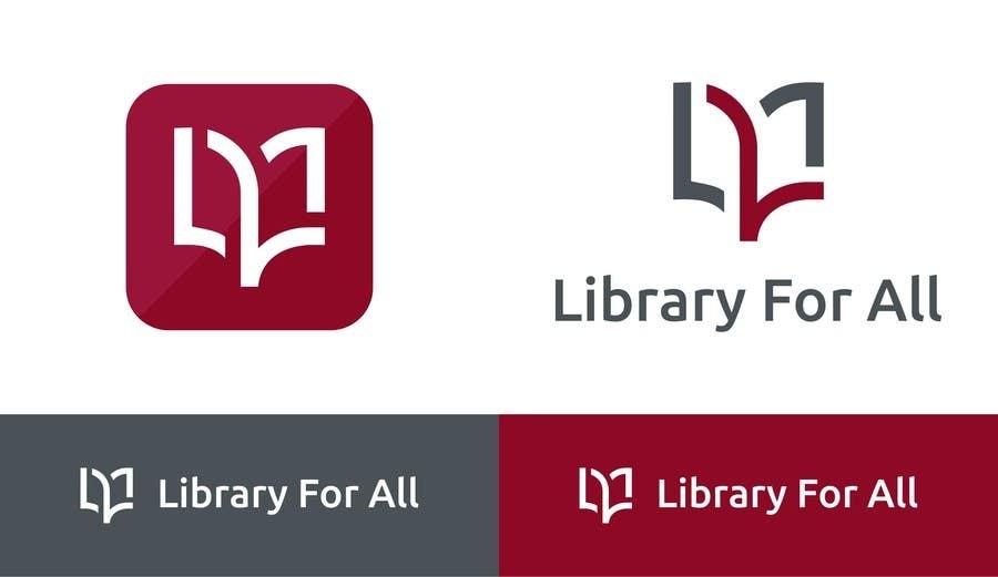 Penyertaan Peraduan #315 untuk Design a Logo for the Library For All application!