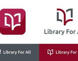 #316 untuk Design a Logo for the Library For All application! oleh redclicks
