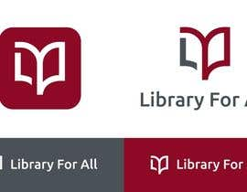 #318 untuk Design a Logo for the Library For All application! oleh redclicks