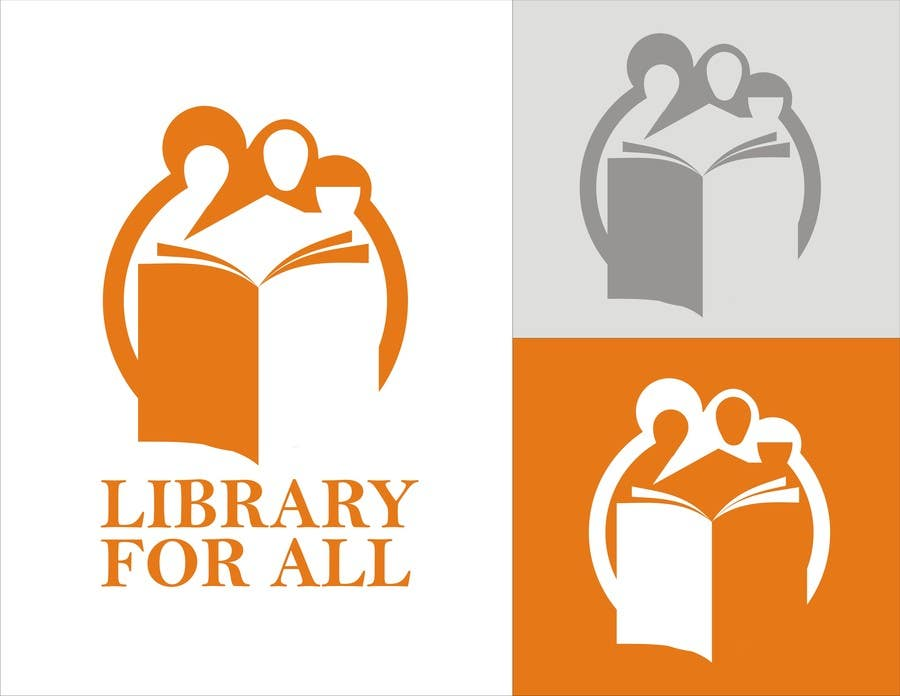Penyertaan Peraduan #225 untuk Design a Logo for the Library For All application!