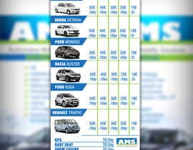 #11 untuk Design a Flyer for AMS RENT A CAR oleh adidoank123