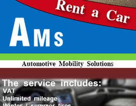 Lashqarashvili tarafından Design a Flyer for AMS RENT A CAR için no 2