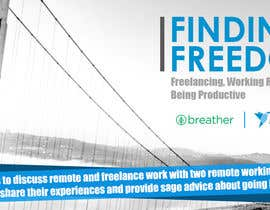 #83 for Design a Banner for a Freelancer/Breather Event in San Francisco by namishkashyap