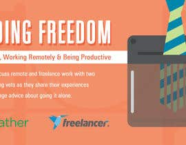 #77 para Design a Banner for a Freelancer/Breather Event in San Francisco por rebeckanova