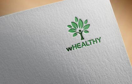 #56 for Design a logo for wHealthy af farooqshahjee